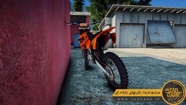دانلود موتور سیکلت 2006 KTM 125 SX برای بازی GTA V