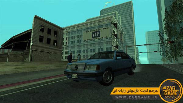 دانلود ماشین Benefactor Scharmann از بازی GTA V برای بازی GTA San Andreas