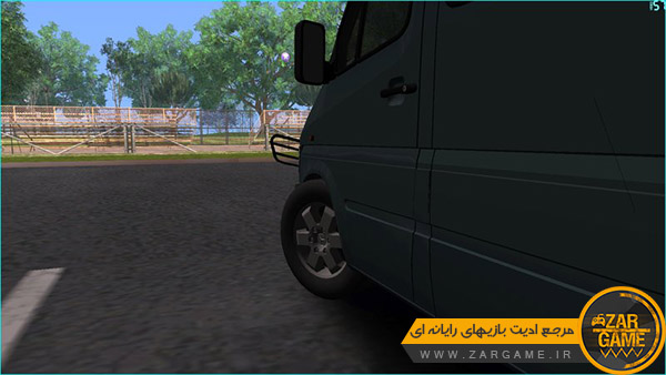 دانلود خودروی ون 1997 Mercedes Sprinter برای بازی GTA San Andreas