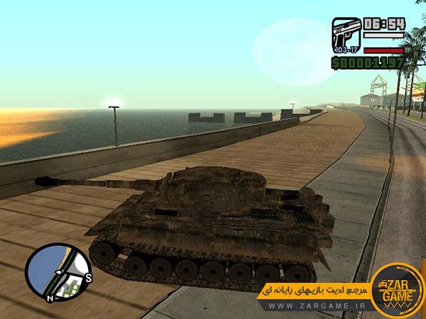 دانلود پک وسایل نقلیه بازی کال آف دیوتی 2 برای بازی GTA San Andreas