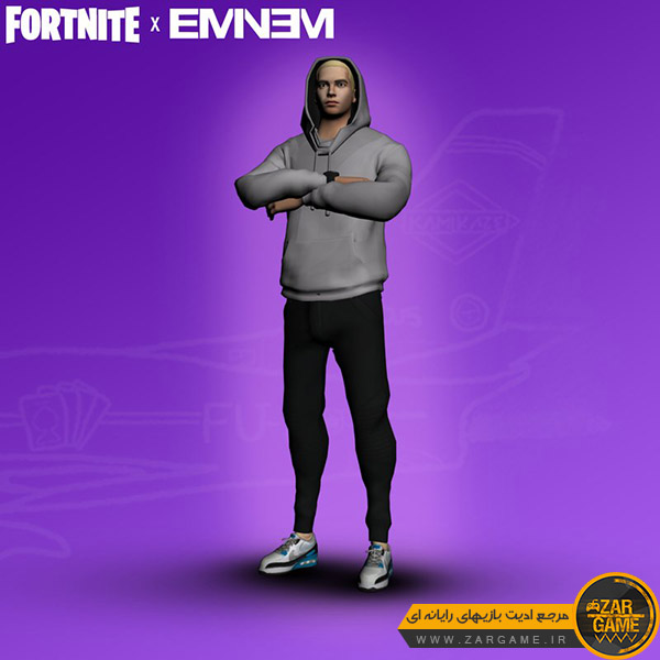 دانلود اسکین Eminem از بازی Fortnite برای بازی GTA San Andreas