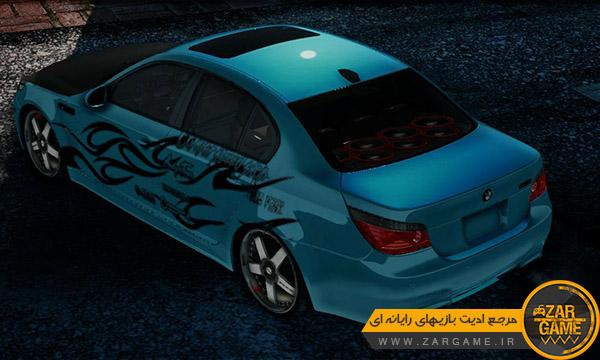 دانلود ماشین BMW M5 E60 برای بازی GTA San Aandreas