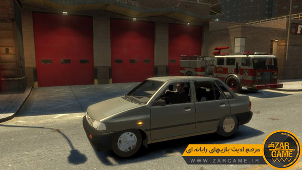 دانلود ماشین پراید صبا برای بازی GTA IV