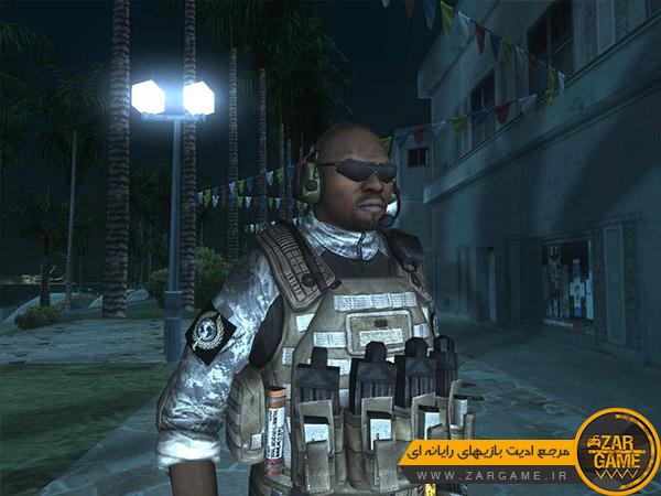 دانلود پک اسکین سرباز از بازی Battery Online برای بازی GTA San Andreas
