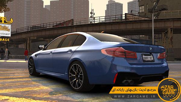 دانلود ماشین 2018 BMW M5 Competition برای بازی GTA IV