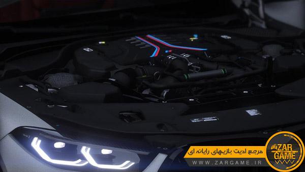 دانلود ماشین 2021 BMW M8 F91 Competition Convertible برای بازی GTA V