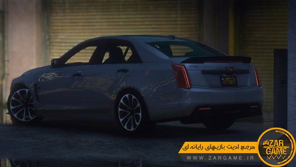 دانلود ماشین Cadillac CTS V 2017 برای بازی GTA V