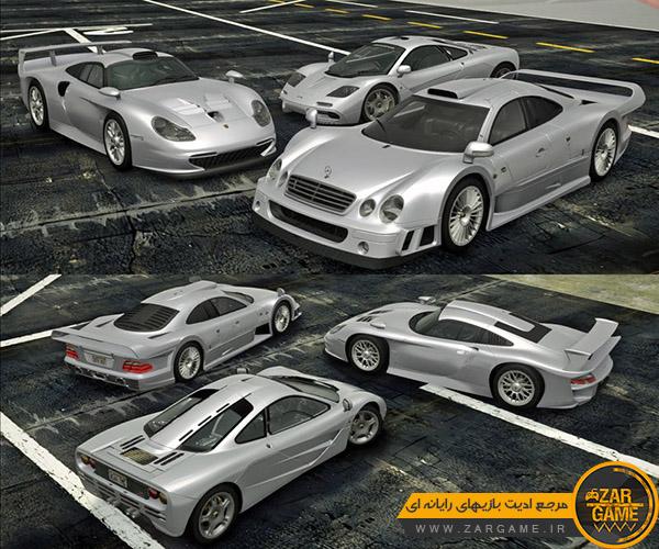 دانلود ماشین 1998 Porsche 911 GT1 برای بازی GTA San Andreas
