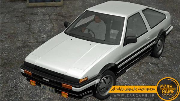 دانلود ماشین 1983 Toyota Corolla Levin برای بازی GTA San Andreas