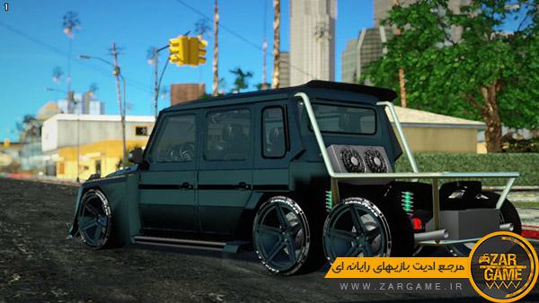 دانلود ماشین MERCEDES-BENZ G63 AMG 6×6 برای بازی GTA San Andreas