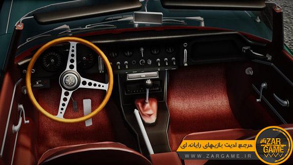 دانلود ماشین Jaguar XK-E Series I E-Type Convertible 1964 برای بازی GTA San Andreas