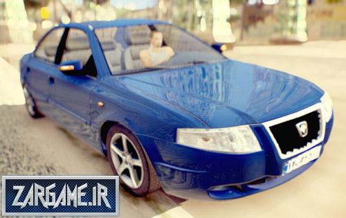 دانلود ماشین سمند سورن با کیفیت نسخه 2 برای (GTA 5 (San Andreas