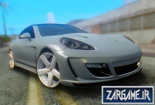 دانلود ماشین پورشه Panamera Turbo برای (GTA 5 (San Andreas
