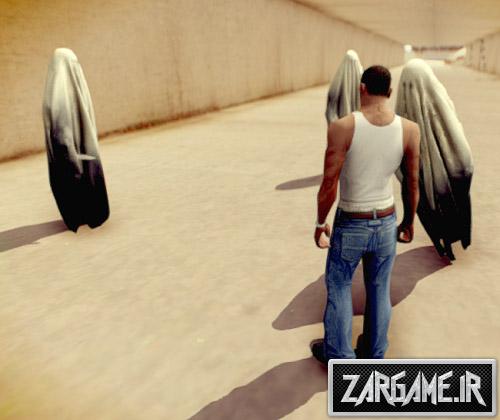 دانلود مود حمله ی ارواح برای (GTA 5 (San Andreas