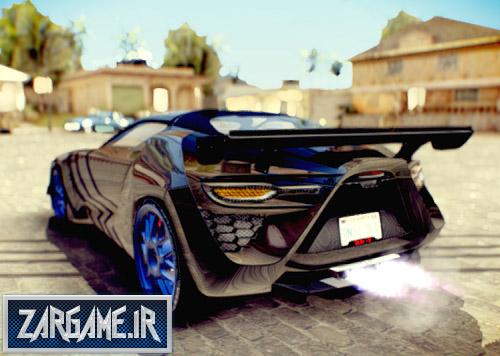 دانلود ماشین بسیار زیبای Bertone Mantide برای (GTA 5 (San Andreas