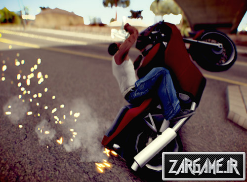 دانلود مد هرگز سقوط نکردن از موتور برای (GTA 5 (San Andreas