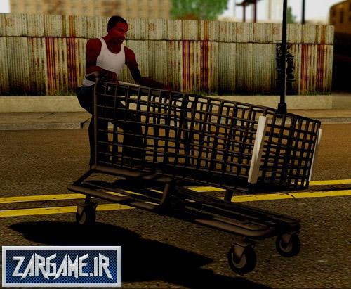 دانلود گاری فروشگاه برای (GTA 5 (San Andreas