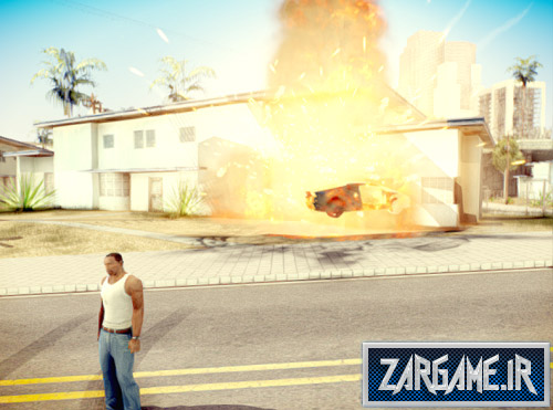دانلود مود خروج اتوماتیک از ماشین هنگام آتش گرفتن برای (GTA 5 (San Andreas