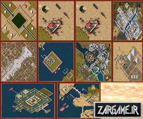 دانلود مجموعه 10 نقشه ی جدید برای بازی جنگ های صلیبی 1