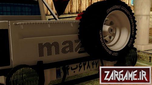 دانلود ماشین مزدا وانت فول اسپورت برای (GTA 5 (San Andreas