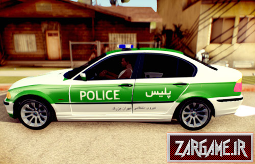 دانلود ماشین پلیس BMW ایرانی برای (GTA 5 (San Andreas