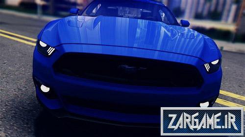 دانلود ماشین Ford Mustang GT 2015 برای (GTA 5 (San Andreas