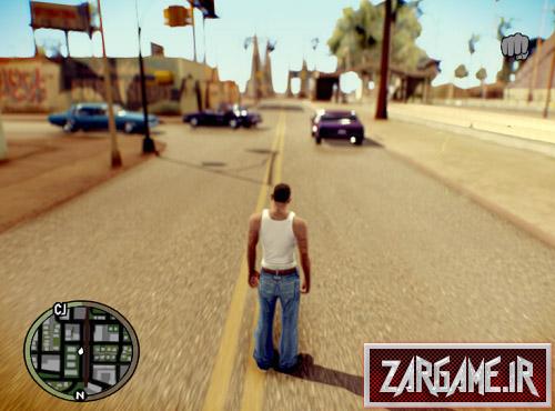 دانلود HUD بازی GTA IV برای (GTA 5 (San Andreas