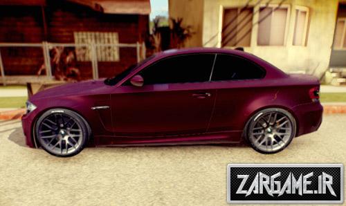 دانلود ماشین BMW M1 E82 با پلاک ایرانی برای (GTA 5 (San Andreas