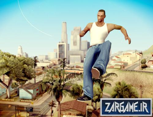 دانلود مد پرش بسیار بلند برای (GTA 5 (San Andreas
