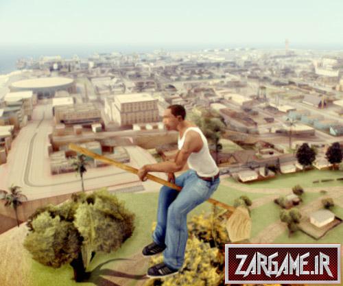 دانلود مد بسیار جالب جاروی پرنده برای بازی (GTA 5 (San Andreas