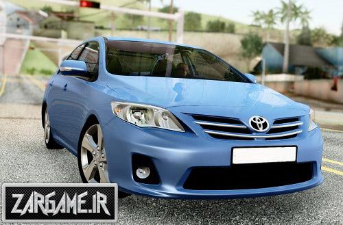 دانلود ماشین تویوتا Corolla برای (GTA 5 (San Andreas
