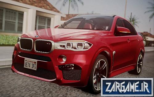 دانلود ماشین BMW X6M 2015 برای (GTA 5 (San Andreas
