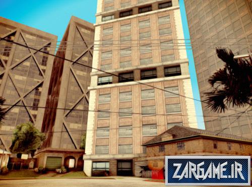 دانلود مد ساختمان های آسمان خراش در محله CJ برای (GTA 5 (San Andreas