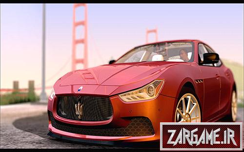 دانلود ماشین بسیار زیبای مازراتی Ghibli 2014 برای GTA 5
