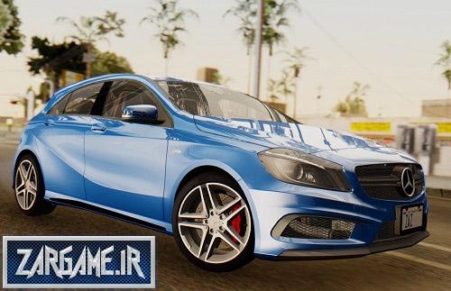 دانلود ماشین Mercedes-Benz A45 AMG در چند طرح متفاوت برای (GTA 5 (San Andreas