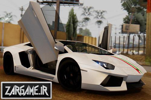 دانلود ماشین لامبورگینی Aventador LP 700-4 برای بازی (GTA 5 (San Andreas