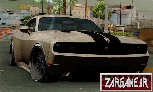 دانلود ماشین Dodge Challenger GTS برای (GTA 5 (San Andreas