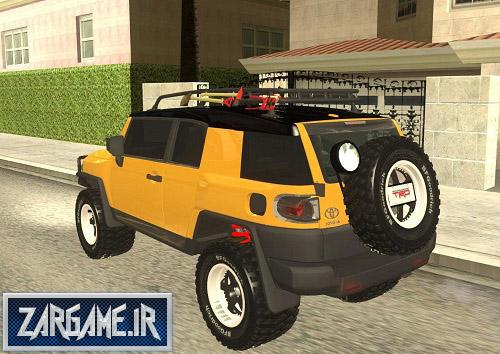 دانلود ماشین تویوتا FJ Cruiser برای (GTA 5 (San Andreas