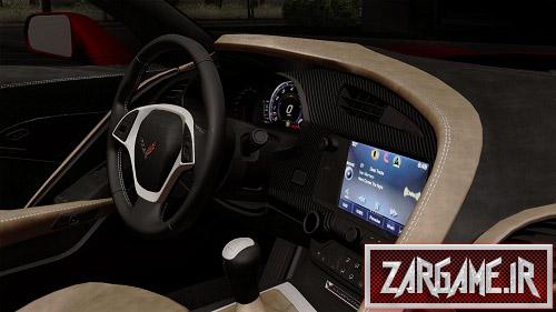 دانلود ماشین Chevrolet Corvette C7 Stingray برای (GTA 5 (San Andreas