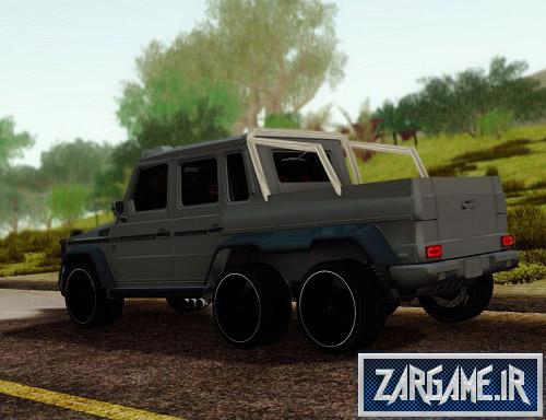 دانلود ماشین مرسدس بنز G63 AMG شش چرخ برای (GTA 5 (San Andreas