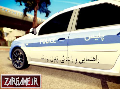 دانلود ماشین تندر 90 پلیس راهنمایی رانندگی برای GTA Sa