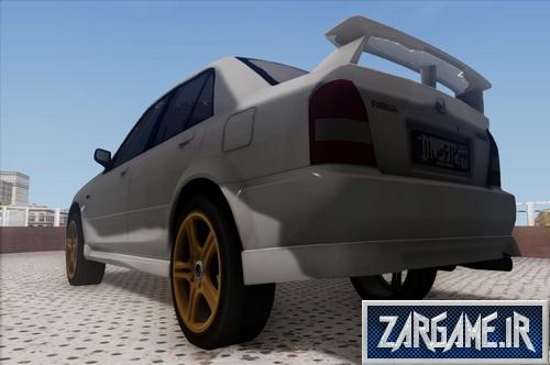 دانلود ماشین Mazda 323 پلاک ایرانی برای GTA Sa