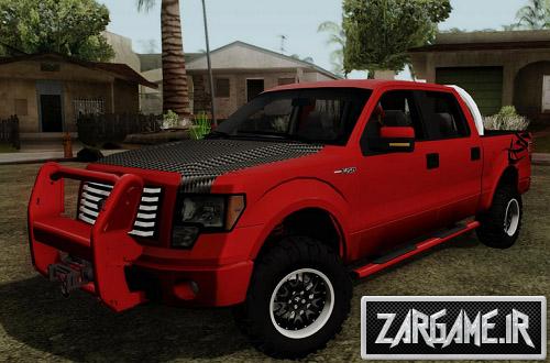 دانلود ماشین فورد F150 جاده ای برای (GTA 5 (San Andreas